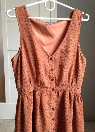 Шикарное платье сарафан размер м в идеале4