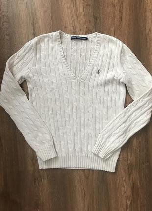 Поло джемпер свитер ralph lauren sport1 фото