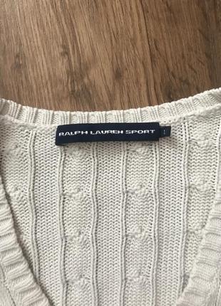 Поло джемпер свитер ralph lauren sport2 фото