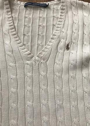 Поло джемпер свитер ralph lauren sport4 фото