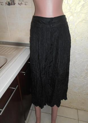 #роскошная гофрированная  шелковая юбка #rafael#2 фото