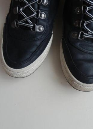 Кожаные ботинки venice 40р 26см2 фото
