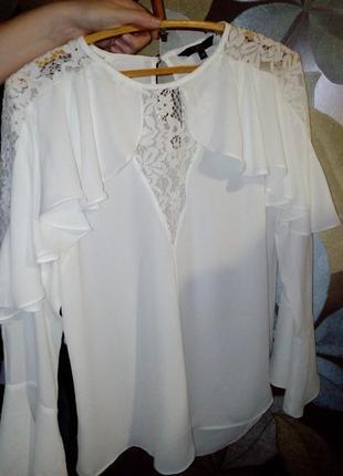 Шикарнейшая блуза с воланами1