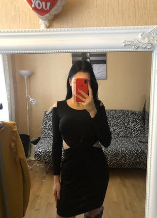 Стилене плаття ,з розрізами2