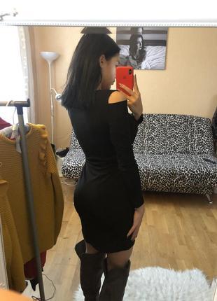 Стилене плаття ,з розрізами3