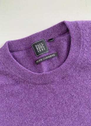 Отличный фирменный кашемировый свитер paul  kehl5