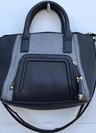 Крутая серая сумочка от new look3