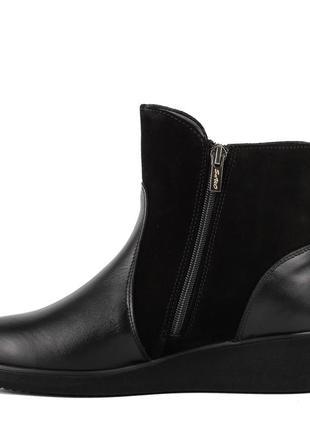 1015цп женские ботинки savio,на платформ,на низком ходу,кожаные,на толстой подошве2 фото