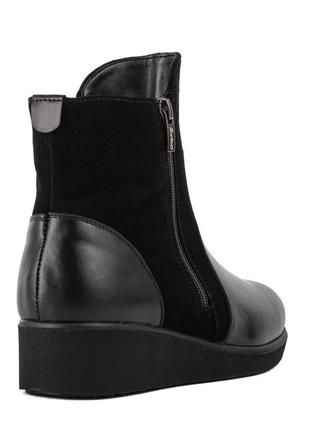1015цп женские ботинки savio,на платформ,на низком ходу,кожаные,на толстой подошве4 фото