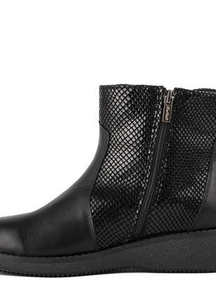 1014цп женские ботинки savio,на платформ,на низком ходу,кожаные,на толстой подошве2 фото
