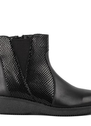 1014цп женские ботинки savio,на платформ,на низком ходу,кожаные,на толстой подошве3 фото