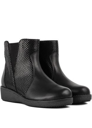 1014цп женские ботинки savio,на платформ,на низком ходу,кожаные,на толстой подошве1 фото
