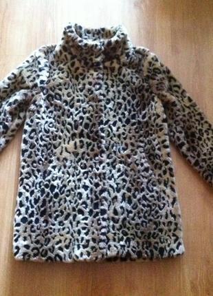 Шуба amisu леопард3