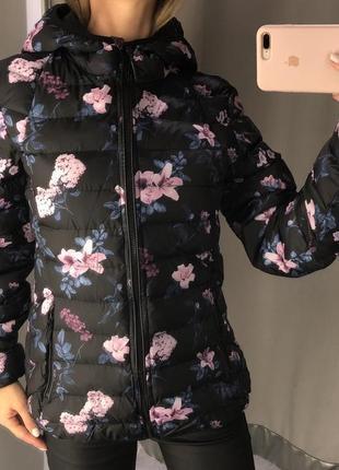 Демисезонная куртка в цветах amisu курточка на синтепоне есть размеры