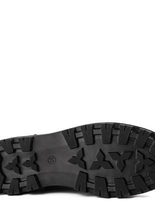 1012цп женские ботинки kento,замшевые,на толстой подошве,на низком ходу,на шнурках5