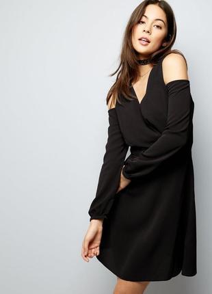 Новое платье с открытыми плечиками new look1
