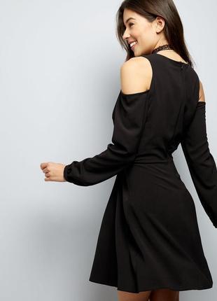 Новое платье с открытыми плечиками new look2