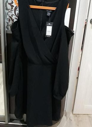 Новое платье с открытыми плечиками new look3