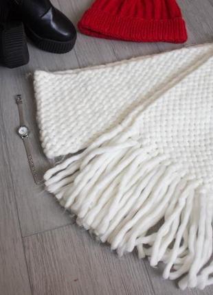 Теплий шарф3