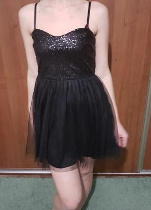 Платье jennyfer в пайетки1