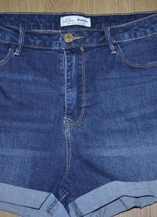 Шорты джинсовые , ткань стрейч1 фото