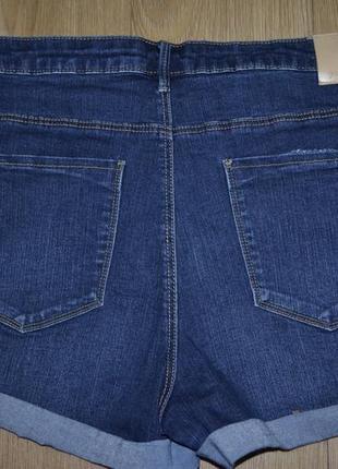 Шорты джинсовые , ткань стрейч2 фото