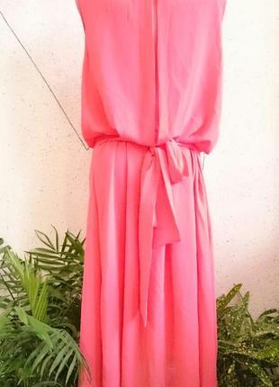 Нарядное платье с шикарной спинкой большой размер1