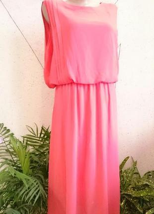 Нарядное платье с шикарной спинкой большой размер3