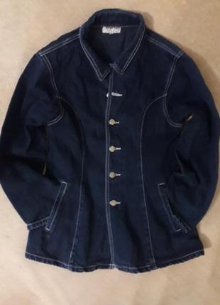 Джинсовый пиджак.1