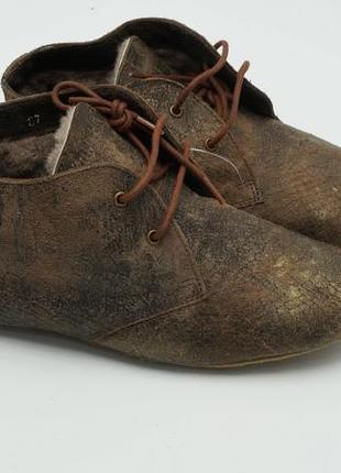 Женские ботинки с натуральным мехом (maruti) италия 37р.