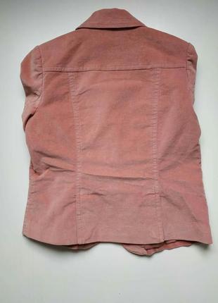 Бархатный, велюровый пиджак, розовый, пудровый5