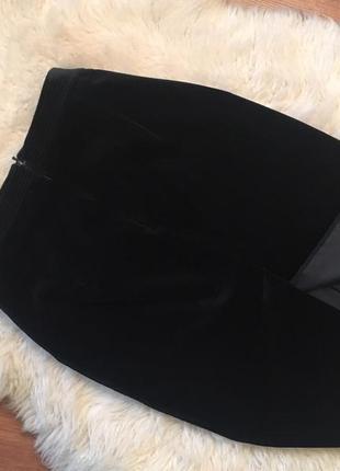 Шикарная велюровая юбка, люкс качества3 фото