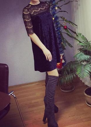 Платье с кружевом3