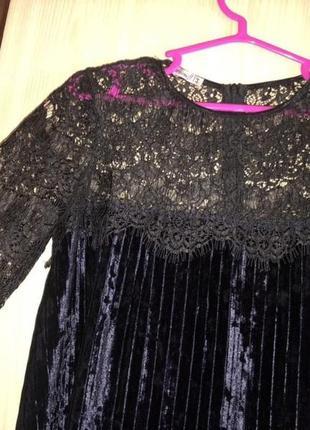 Платье с кружевом5