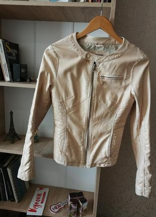 Куртка из экокожи1