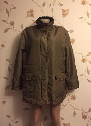 Курточка на теплой подстежке1