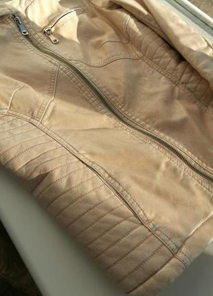 Куртка из экокожи4
