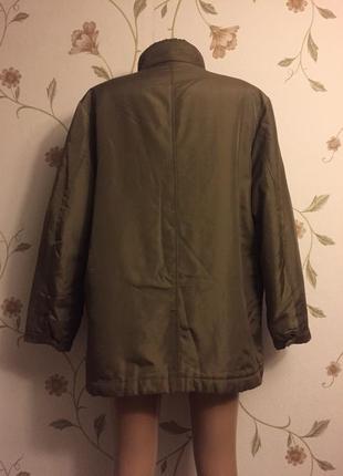 Курточка на теплой подстежке4