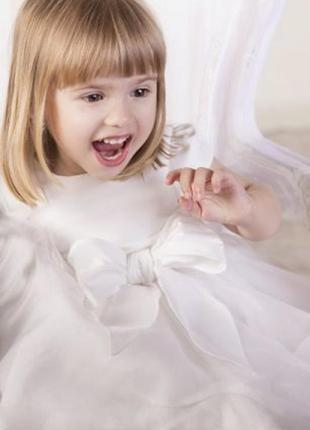 Нарядное платье для девочки на праздник, торжество р.92, новый год