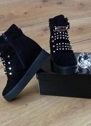 Зимние ботинки стелька 23.5 см. 37 размер маломерят2