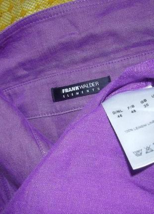 Льняная блуза frank walder4 фото