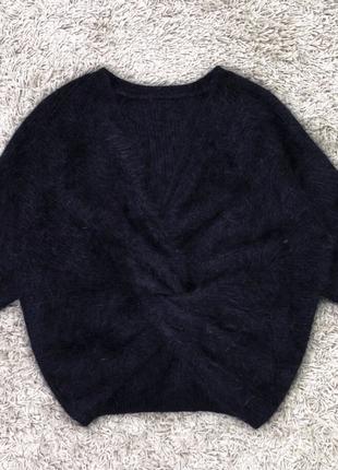 Мягкая приятная кофточка-свитерок  люкс с переплетом узел есть цвета