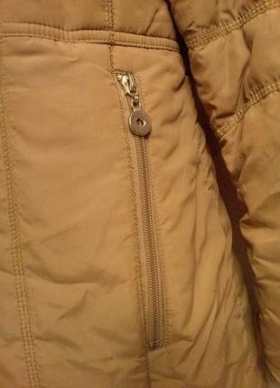 Курточка теплая на молнии и кнопках3