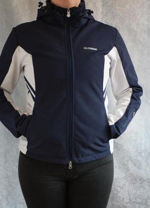 Бесплатная доставка! крутой фирменный софтшел ветровка куртка glissade спорт мастер