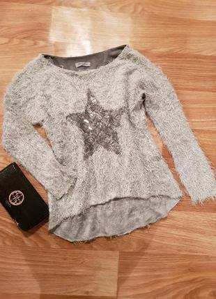 Фирменная, красивая кофта травка, свитер3