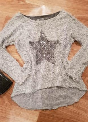 Фирменная, красивая кофта травка, свитер5