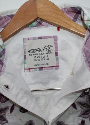 Рубашка esprit с вышивкой. размер 125