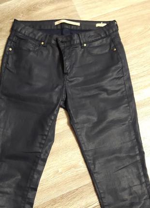 Стильні штани під шкіру, zara1