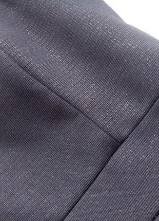 &маленькое черное облегающее платье с мерцанием на новый год, без бретелей, р.38/м5