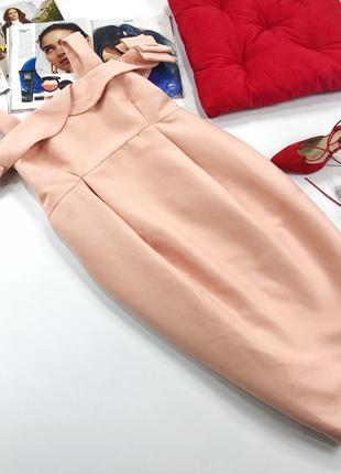 Роскошное плотное вечернее платье asos для беременных5